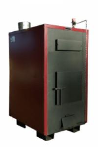 """Пиролизные котлы """"Буржуй-К"""" ТA-50 с автоматическим регулятором тяги"""