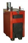 """Твердотопливные пиролизные котлы """"Буржуй-К"""" ТА-20-2К с автоматическим регулятором тяги и контуром горячего водоснабжения"""